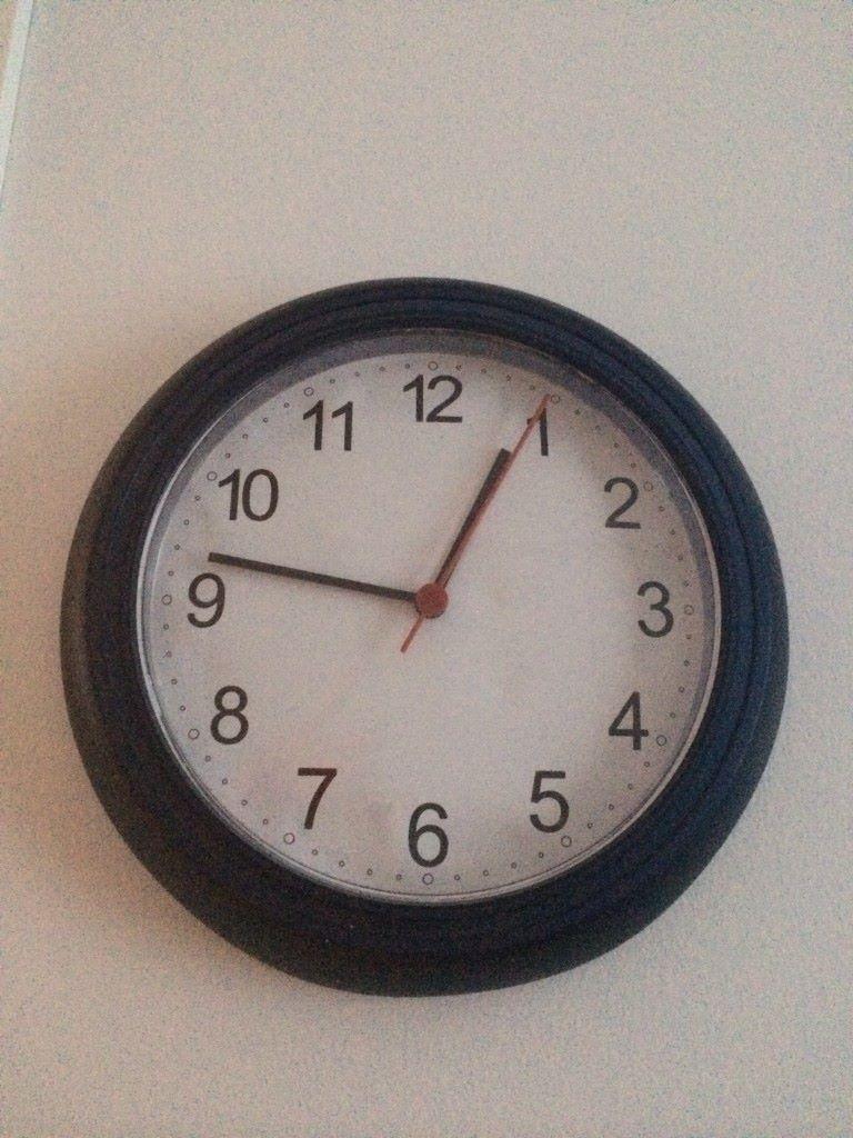 kelloa joutuu toisinaan treenin yhteydessä katsomaan rajallisen ajankäytön vuoksi
