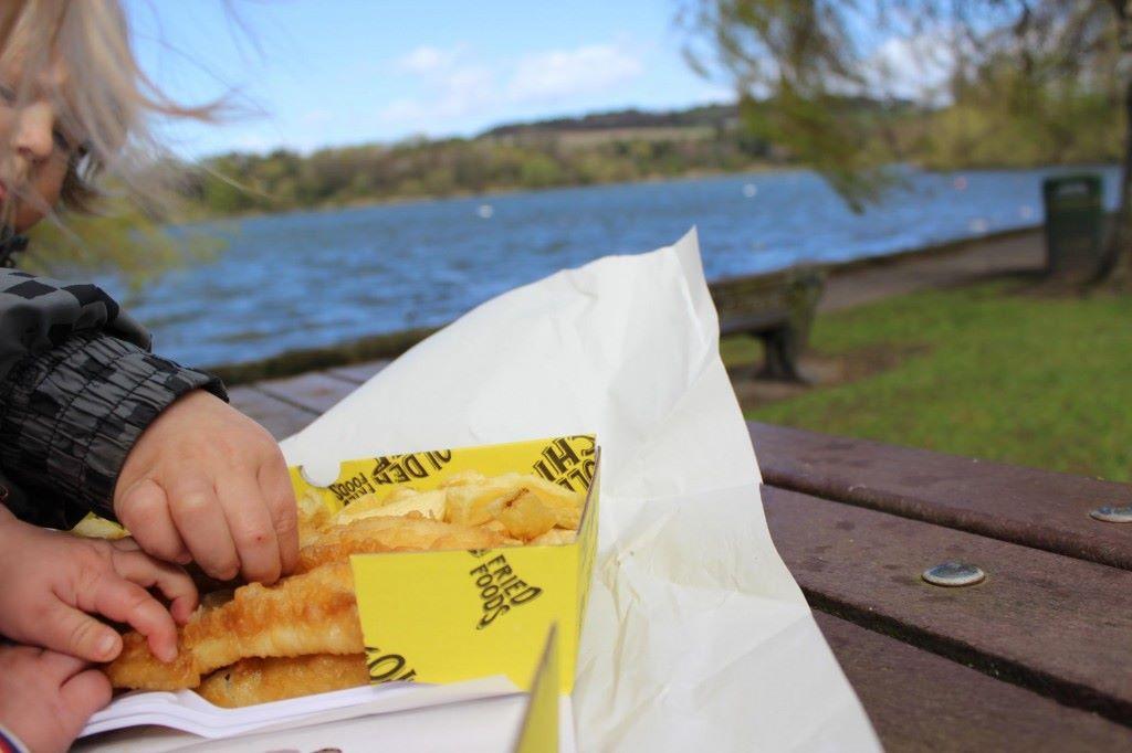 Kerrankos sitä; Fish&chips