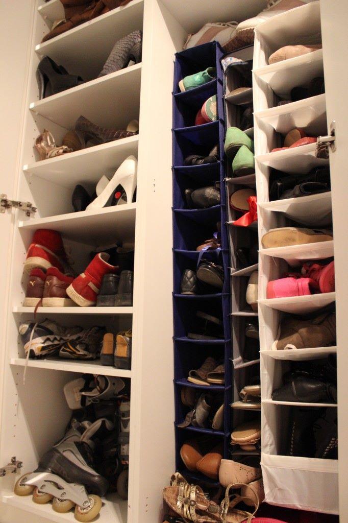 reilun 70 parin kenkäkokoelmassa olisi vielä hyvin tilaa kun on kerta tarvettakin ;)