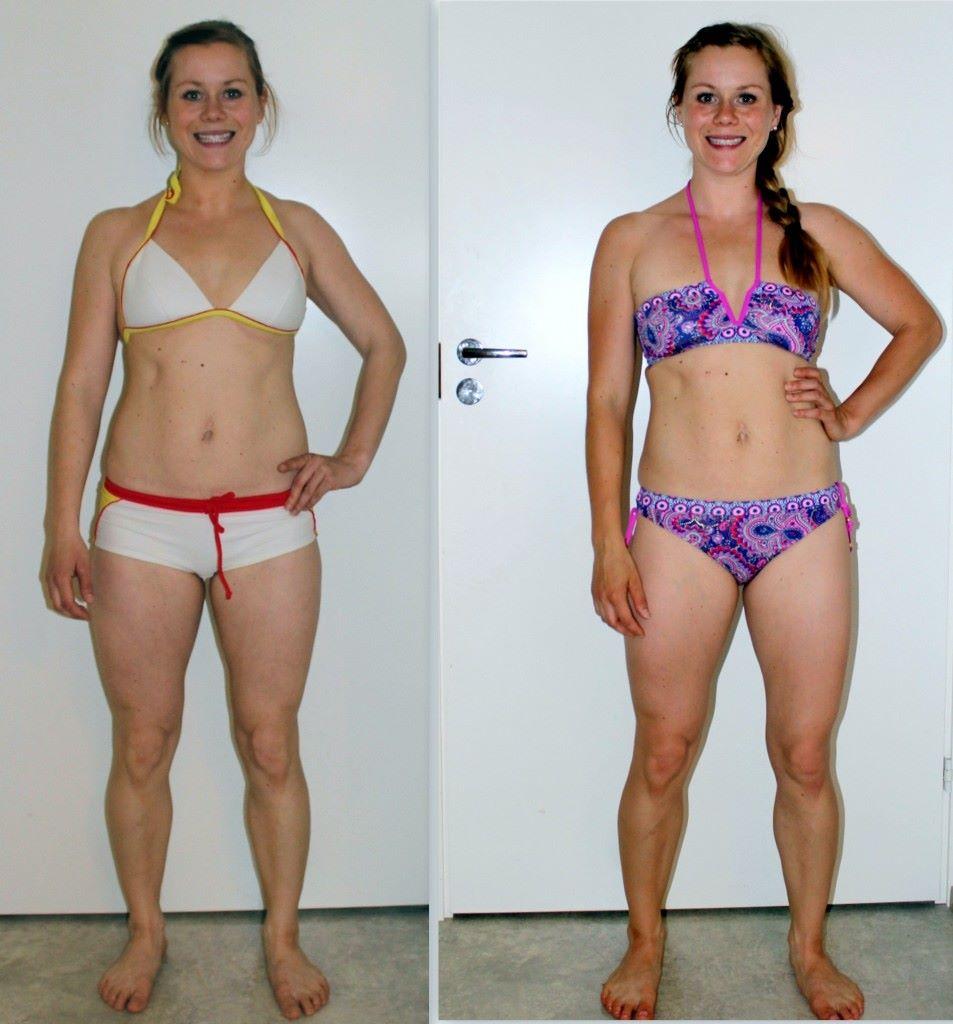 näissä kuvissa eroa sillä syökö jokapäivä miten sattuu vai ainoastaan silloin tällöin, ei näy - päänsisällä eron kuitenkin tuntee