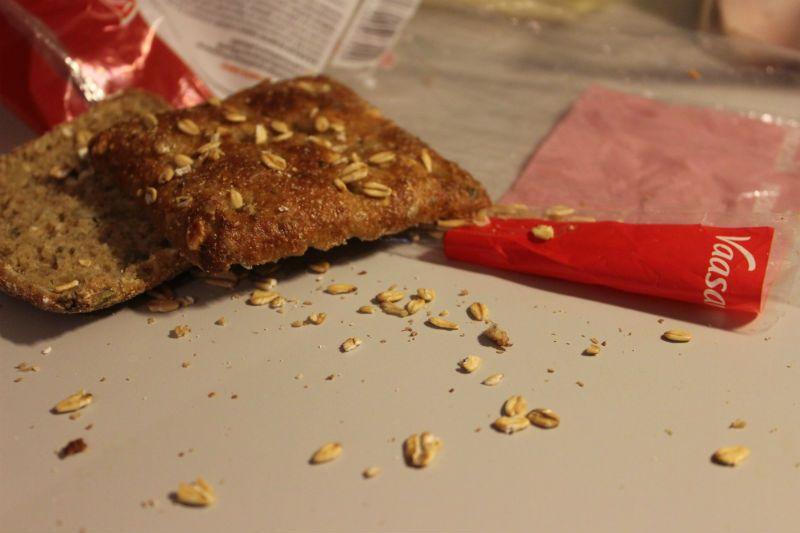 näin käy aina kun otat leivän pussista