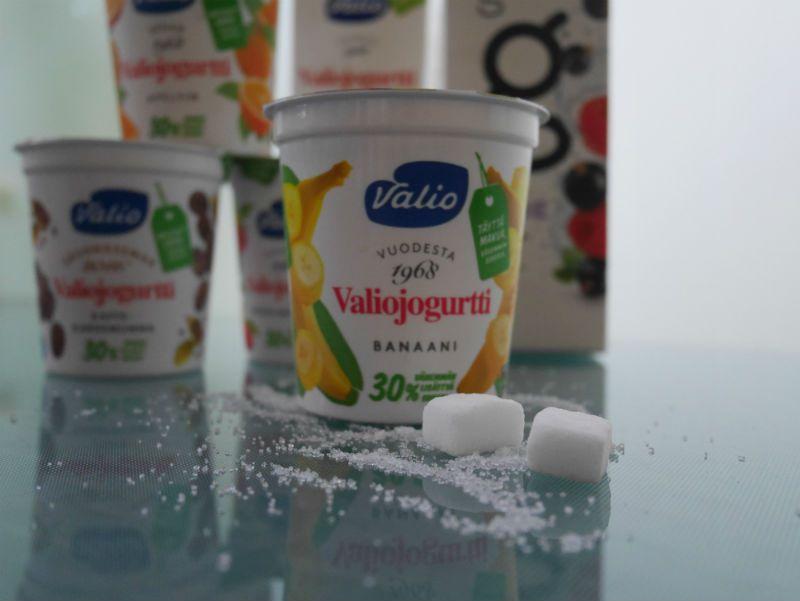 Valion jogurteissa on nyt 30% vähemmän sokeria - tuotteet saatu Valiolta