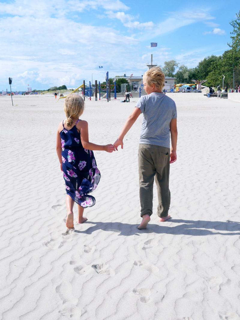 pärnu lasten kanssa, pärnu ranta