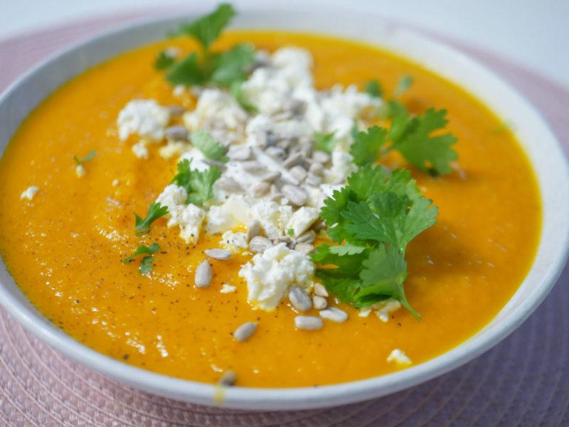 porkkana-appelsiinikeitto