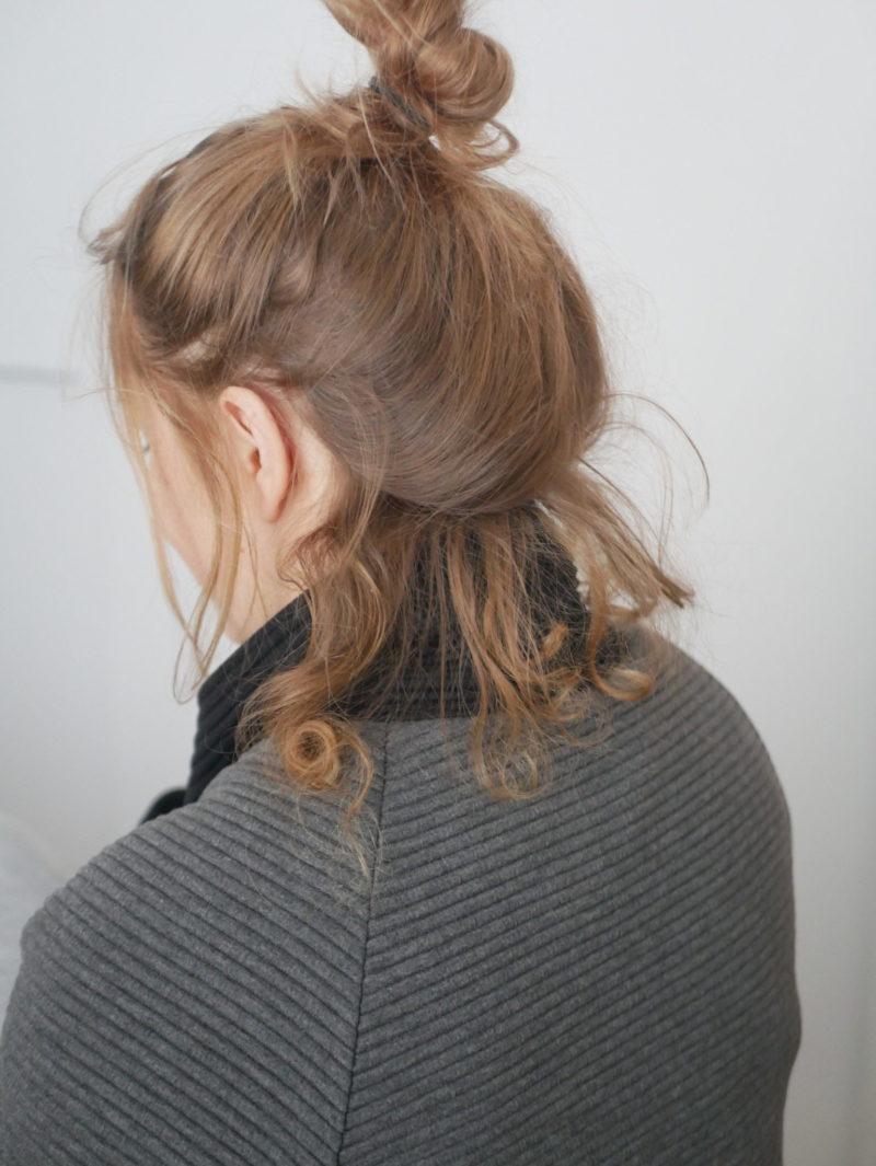 hiustenlähdön jälkeen