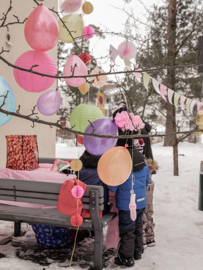 syntymäpäiväjuhlat korona-aikana